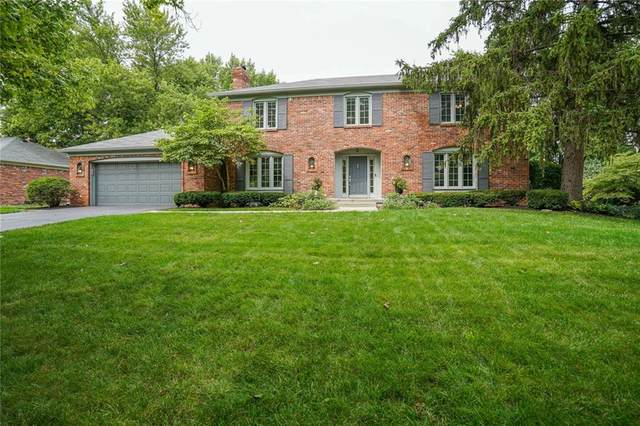 8820 Staghorn Road, Indianapolis, IN 46260 (MLS #21731609) :: Mike Price Realty Team - RE/MAX Centerstone