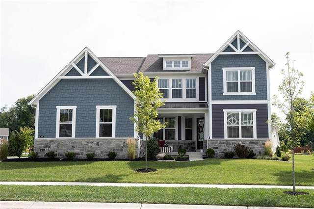3645 Conifer Drive, Zionsville, IN 46077 (MLS #21731610) :: Anthony Robinson & AMR Real Estate Group LLC