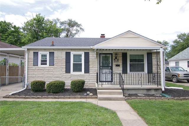 1912 N Bancroft Street, Indianapolis, IN 46218 (MLS #21731633) :: The ORR Home Selling Team