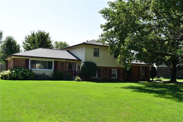 2770 N Fleming Circle, Shelbyville, IN 46176 (MLS #21731704) :: Dean Wagner Realtors