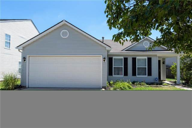 14493 Lee Stewart Lane, Fishers, IN 46038 (MLS #21731715) :: Mike Price Realty Team - RE/MAX Centerstone