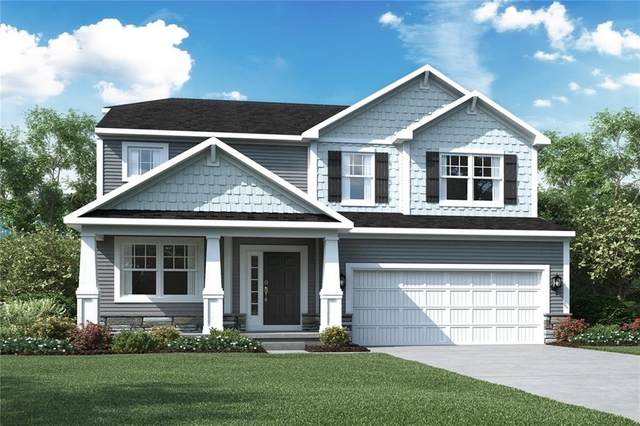 4722 Harvestor Lane, Whitestown, IN 46075 (MLS #21731718) :: Richwine Elite Group