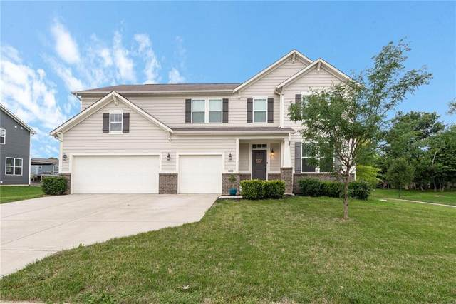 3324 Streamside Drive, Greenwood, IN 46143 (MLS #21731752) :: Dean Wagner Realtors