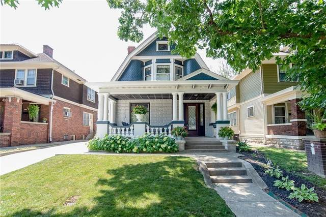 1305 Woodlawn Avenue, Indianapolis, IN 46203 (MLS #21731767) :: Heard Real Estate Team | eXp Realty, LLC