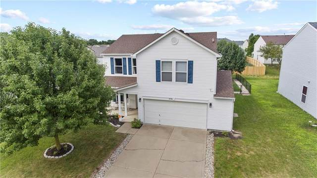 8758 Blooming Grove Drive, Camby, IN 46113 (MLS #21731866) :: David Brenton's Team
