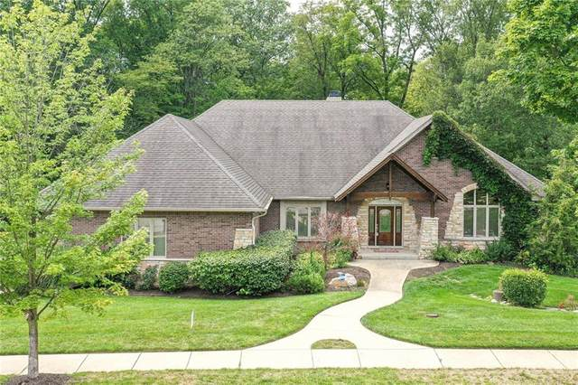 8022 Preservation Drive, Indianapolis, IN 46278 (MLS #21731914) :: The ORR Home Selling Team