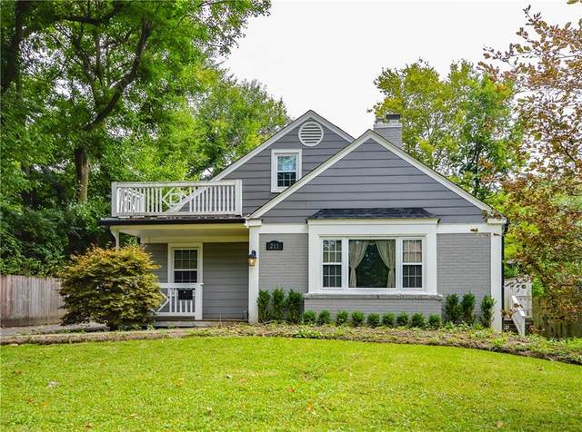 211 E Westfield Boulevard, Indianapolis, IN 46220 (MLS #21731989) :: Richwine Elite Group