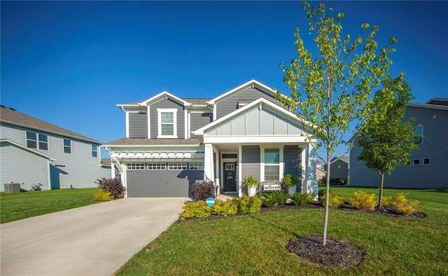 13494 Forest Glade Drive, Fishers, IN 46037 (MLS #21732060) :: David Brenton's Team