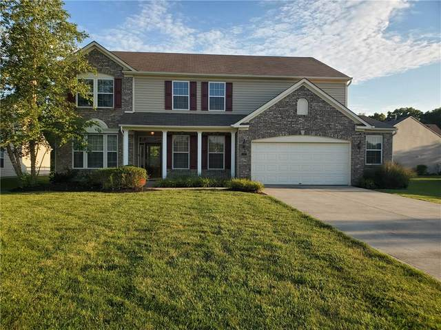 1437 Softwind Drive, Indianapolis, IN 46260 (MLS #21732089) :: Mike Price Realty Team - RE/MAX Centerstone