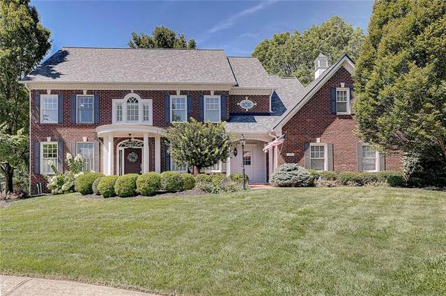 7204 Sunset Court, Zionsville, IN 46077 (MLS #21732091) :: Mike Price Realty Team - RE/MAX Centerstone