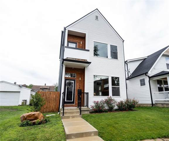 1158 S Randolph Street, Indianapolis, IN 46203 (MLS #21732307) :: Mike Price Realty Team - RE/MAX Centerstone