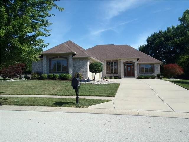 920 E Justine Circle, Indianapolis, IN 46234 (MLS #21732400) :: Mike Price Realty Team - RE/MAX Centerstone