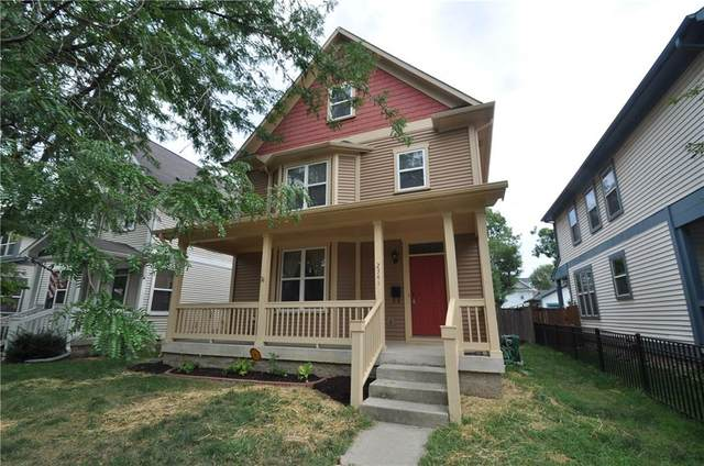 2341 N Delaware Street, Indianapolis, IN 46205 (MLS #21732430) :: Mike Price Realty Team - RE/MAX Centerstone