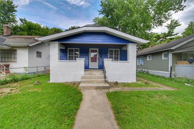 741 N Denny Street, Indianapolis, IN 46201 (MLS #21732454) :: Anthony Robinson & AMR Real Estate Group LLC