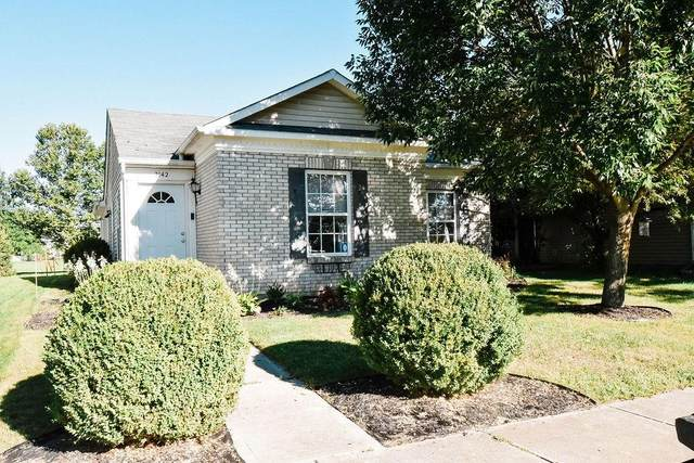 2142 Cedarmill Drive, Franklin, IN 46131 (MLS #21732527) :: Mike Price Realty Team - RE/MAX Centerstone