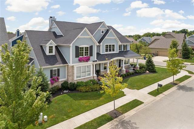 5435 S Grandin Hall Circle, Carmel, IN 46033 (MLS #21732608) :: Mike Price Realty Team - RE/MAX Centerstone