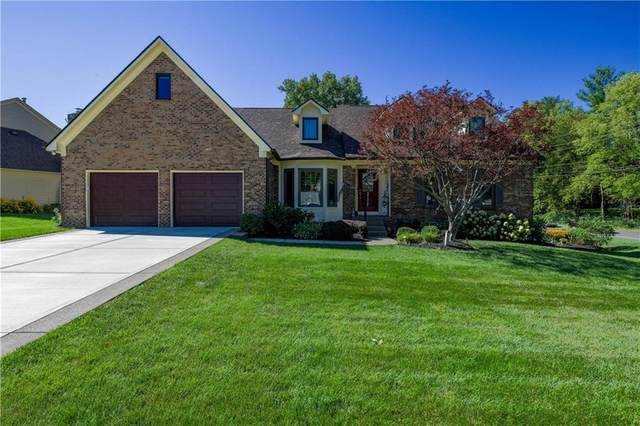 9749 Scotch Pine Lane, Indianapolis, IN 46256 (MLS #21732657) :: Anthony Robinson & AMR Real Estate Group LLC