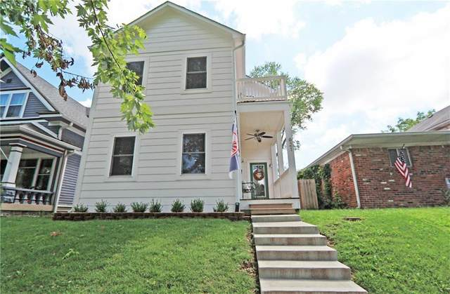 621 Sanders Street, Indianapolis, IN 46203 (MLS #21732671) :: Anthony Robinson & AMR Real Estate Group LLC