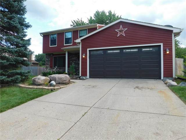 7817 Cameron Place, Fishers, IN 46038 (MLS #21732673) :: Anthony Robinson & AMR Real Estate Group LLC