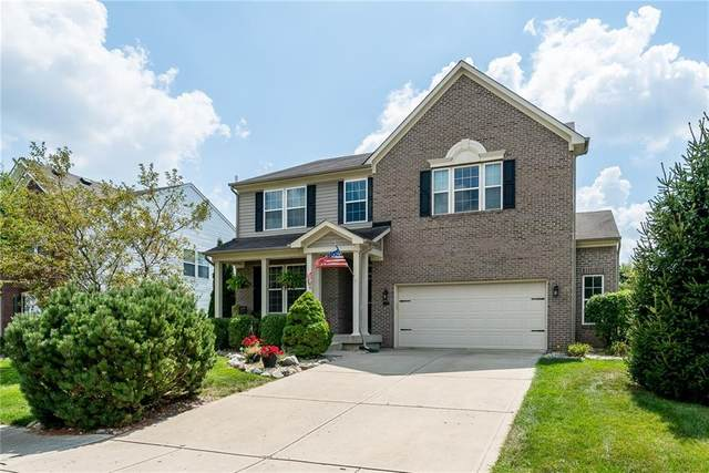 11089 Sanders Drive, Fishers, IN 46038 (MLS #21732767) :: Mike Price Realty Team - RE/MAX Centerstone