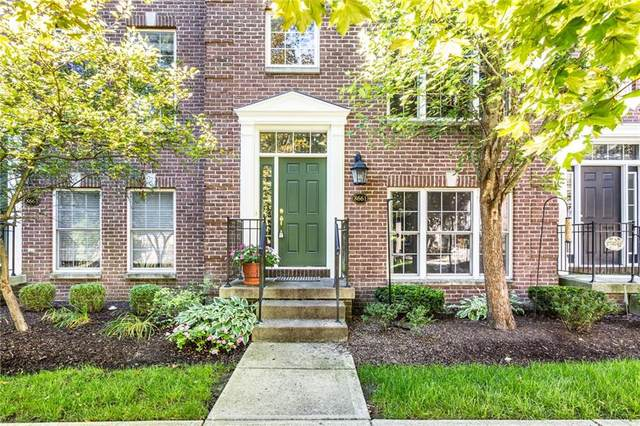8661 Meridian Square Drive, Indianapolis, IN 46240 (MLS #21732781) :: Anthony Robinson & AMR Real Estate Group LLC