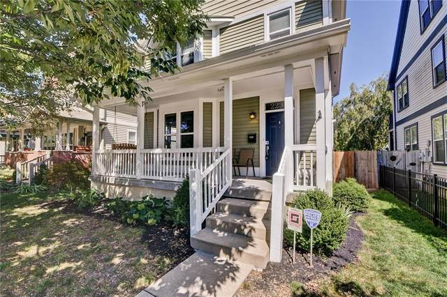 2233 N Delaware Street, Indianapolis, IN 46205 (MLS #21732830) :: Mike Price Realty Team - RE/MAX Centerstone