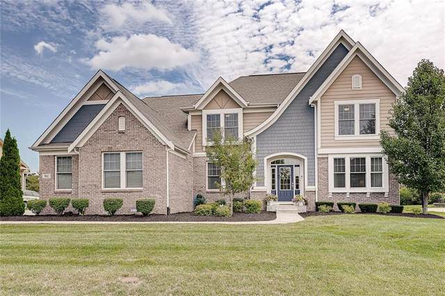 9842 Soaring Eagle Lane, Mccordsville, IN 46055 (MLS #21732891) :: Mike Price Realty Team - RE/MAX Centerstone