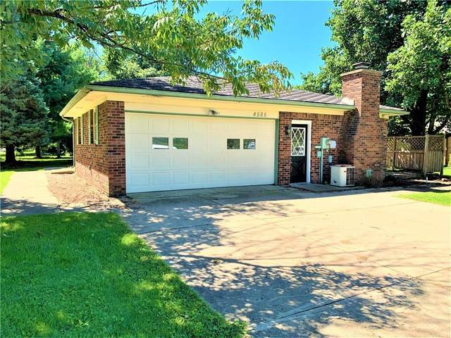 4585 N Morristown Road N, Shelbyville, IN 46176 (MLS #21732921) :: Mike Price Realty Team - RE/MAX Centerstone