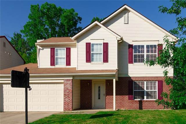 6126 Tybalt Circle, Indianapolis, IN 46254 (MLS #21732979) :: Dean Wagner Realtors