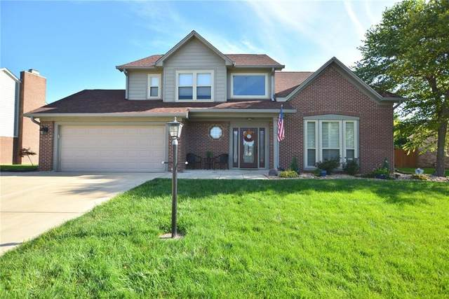 7743 Santolina Drive, Indianapolis, IN 46237 (MLS #21733009) :: Anthony Robinson & AMR Real Estate Group LLC