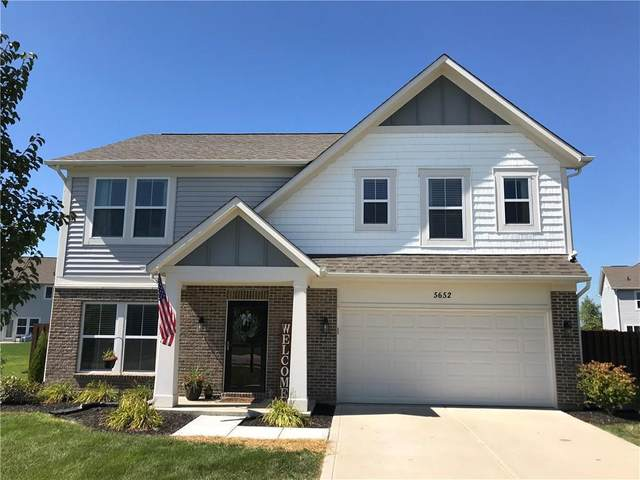 5652 W Woodhaven Drive, Mccordsville, IN 46055 (MLS #21733012) :: Mike Price Realty Team - RE/MAX Centerstone