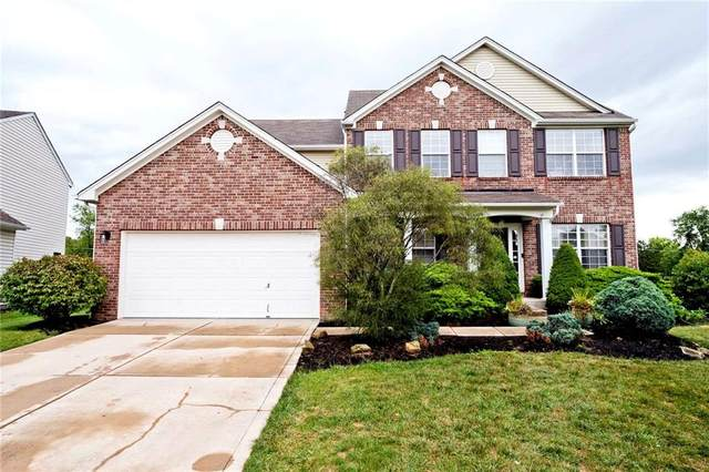 12705 Touchdown Drive, Fishers, IN 46037 (MLS #21734018) :: Mike Price Realty Team - RE/MAX Centerstone
