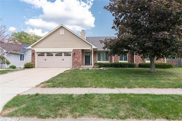 7643 Old Oakland Bl W Drive, Indianapolis, IN 46236 (MLS #21734038) :: Dean Wagner Realtors