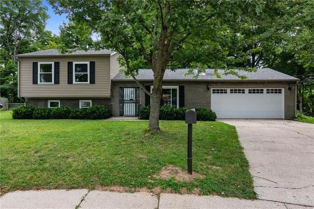 2611 Lawrence Court, Indianapolis, IN 46227 (MLS #21734114) :: David Brenton's Team