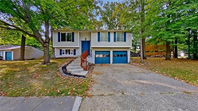 1525 Woodpointe Drive, Indianapolis, IN 46234 (MLS #21734172) :: The ORR Home Selling Team
