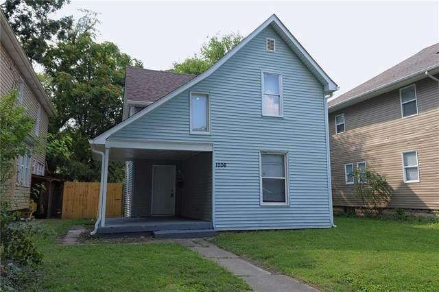 1206 N Lasalle Street, Indianapolis, IN 46201 (MLS #21734179) :: AR/haus Group Realty