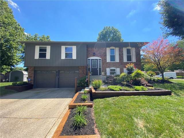 617 Meadowridge Trail, Indianapolis, IN 46217 (MLS #21734234) :: Mike Price Realty Team - RE/MAX Centerstone