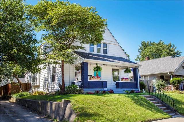 1045 E Bradbury, Indianapolis, IN 46203 (MLS #21734369) :: Anthony Robinson & AMR Real Estate Group LLC