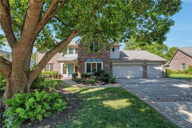 1815 Continental Drive, Zionsville, IN 46077 (MLS #21734393) :: The ORR Home Selling Team