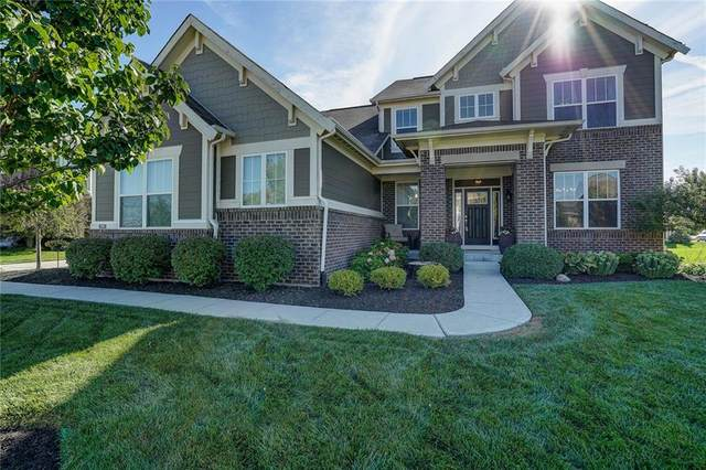 9999 Delmore Drive, Fishers, IN 46040 (MLS #21734487) :: Richwine Elite Group