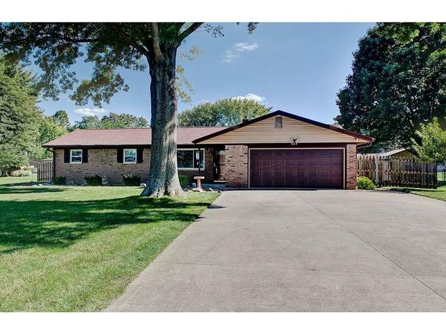 347 Bangor Drive, Indianapolis, IN 46227 (MLS #21734509) :: Anthony Robinson & AMR Real Estate Group LLC