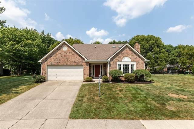 7690 Creekside Drive, Fishers, IN 46038 (MLS #21734639) :: Dean Wagner Realtors