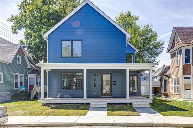1427 Marlowe Avenue, Indianapolis, IN 46201 (MLS #21734675) :: The Evelo Team