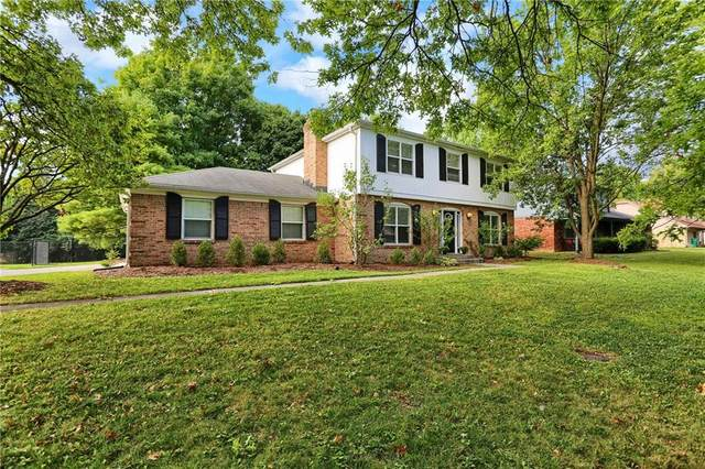 2103 Bechtel Road, Indianapolis, IN 46260 (MLS #21734746) :: Mike Price Realty Team - RE/MAX Centerstone
