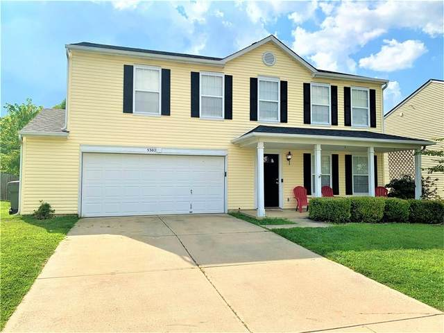 5302 Skipping Stone Drive, Indianapolis, IN 46237 (MLS #21734756) :: Dean Wagner Realtors