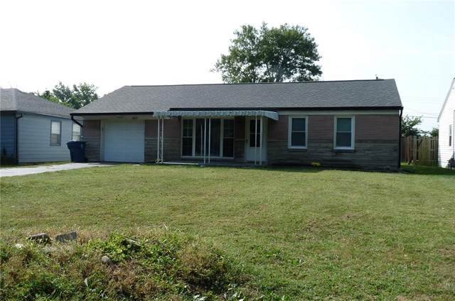 6105 Gregory Drive, Indianapolis, IN 46241 (MLS #21734760) :: Mike Price Realty Team - RE/MAX Centerstone