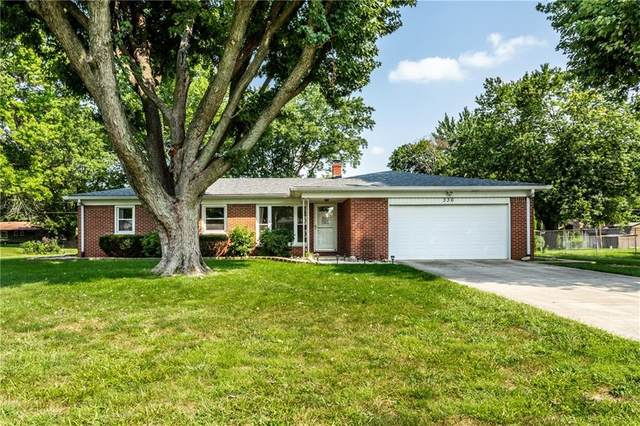 336 Dixie Drive, Indianapolis, IN 46227 (MLS #21734831) :: Dean Wagner Realtors