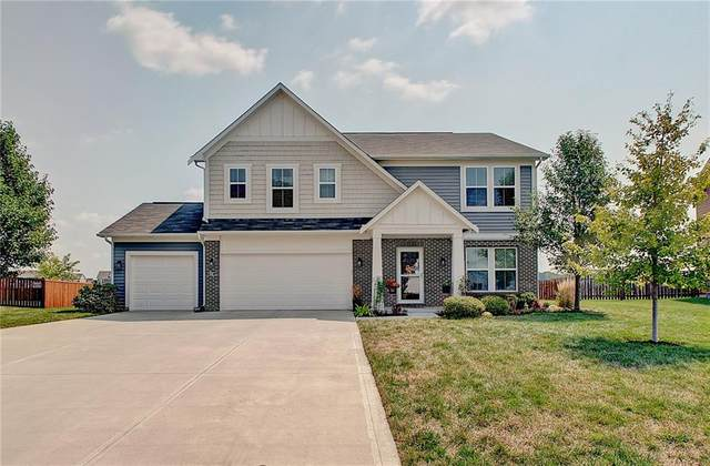 5547 W Woodstock Trail, Mccordsville, IN 46055 (MLS #21734833) :: Mike Price Realty Team - RE/MAX Centerstone