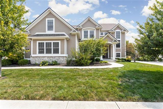 15639 Hawks Way, Carmel, IN 46033 (MLS #21735056) :: Mike Price Realty Team - RE/MAX Centerstone