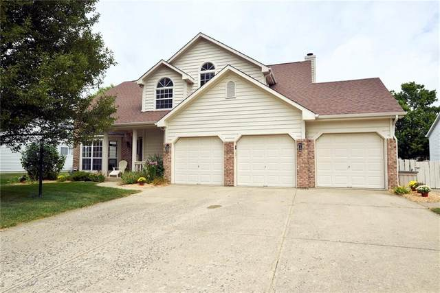7812 Garrick Street, Fishers, IN 46038 (MLS #21735093) :: Mike Price Realty Team - RE/MAX Centerstone